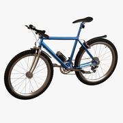 cykel - berg 3d model