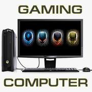 Игровая компьютерная система DELL Alienware 3d model