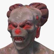 좀비 생물 캐릭터 3d model