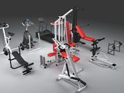 27_fitness_all 3d model