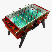 Foosballbord 3d model
