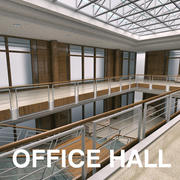 Hall Ana 3d model
