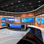 VR Studio News American 1 3d model