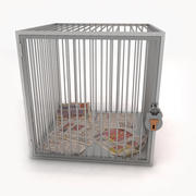 Menselijke kooi 3d model