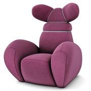 Krzesło Bunny 3d model