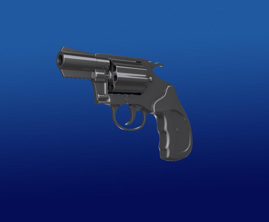 colt Gun royalty-free 3d model - Preview no. 4