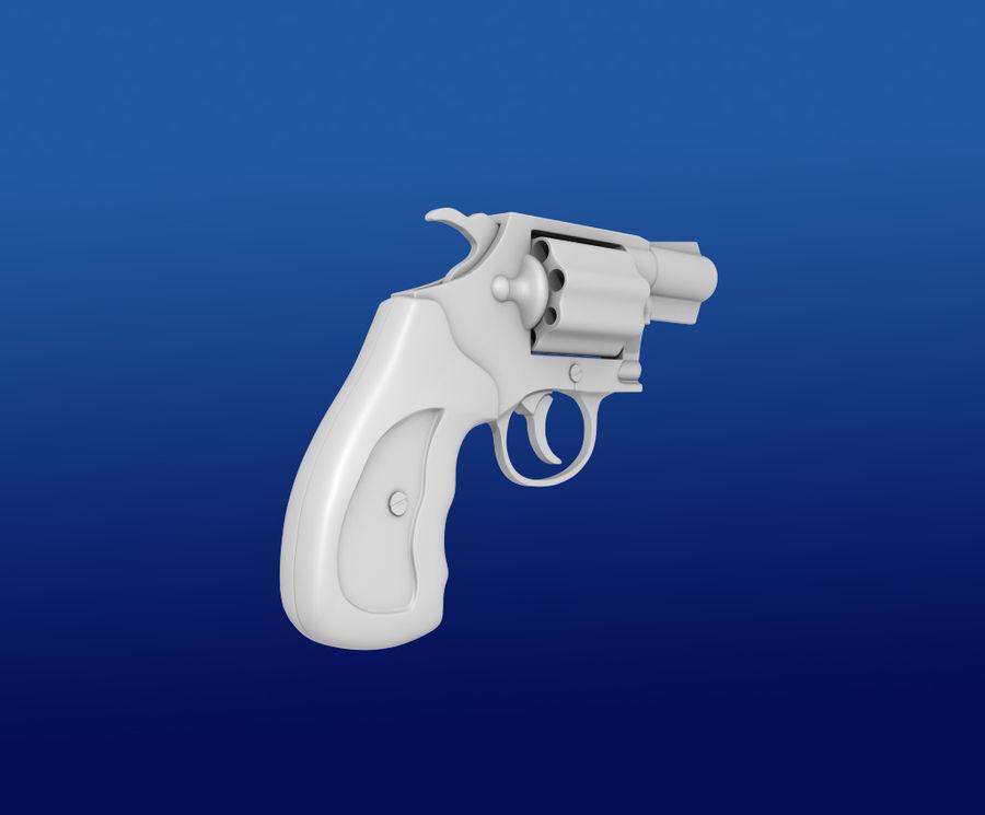 colt Gun royalty-free 3d model - Preview no. 1