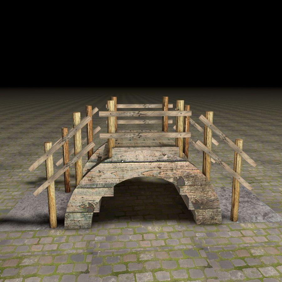 Brücke royalty-free 3d model - Preview no. 2