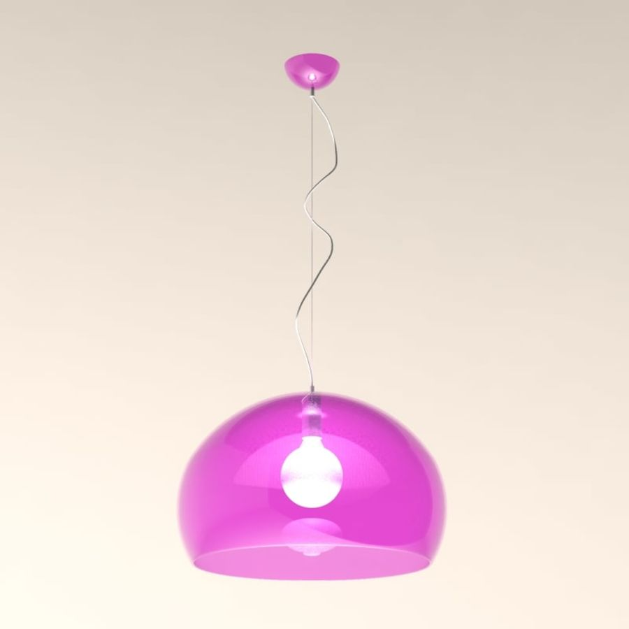 Lampa FLY royalty-free 3d model - Preview no. 1
