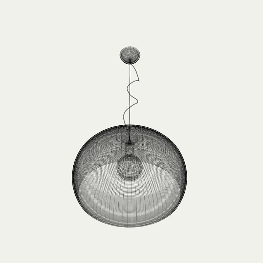 Lampa FLY royalty-free 3d model - Preview no. 5