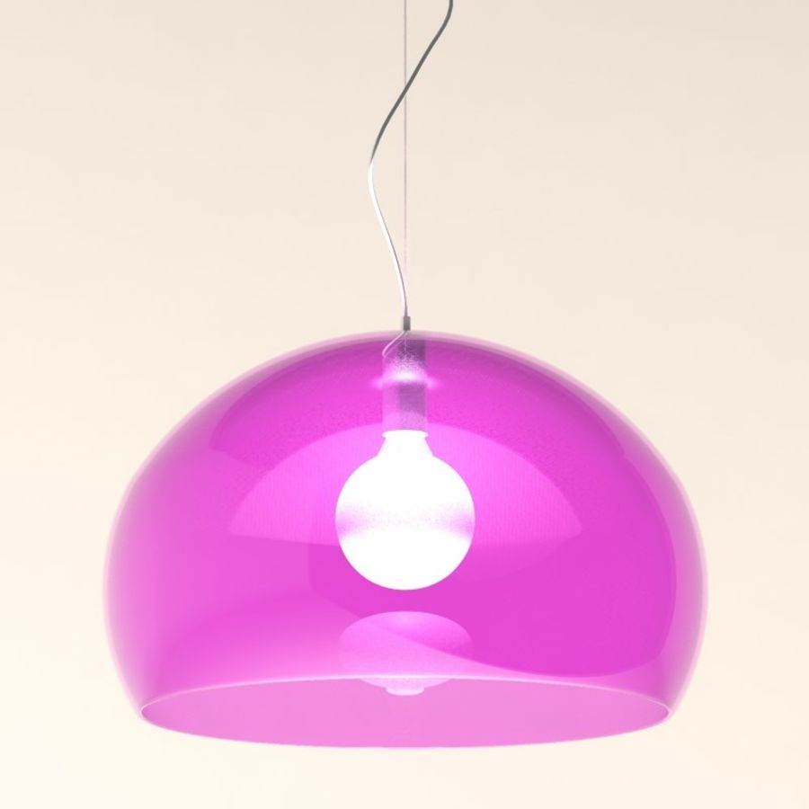Lampa FLY royalty-free 3d model - Preview no. 2