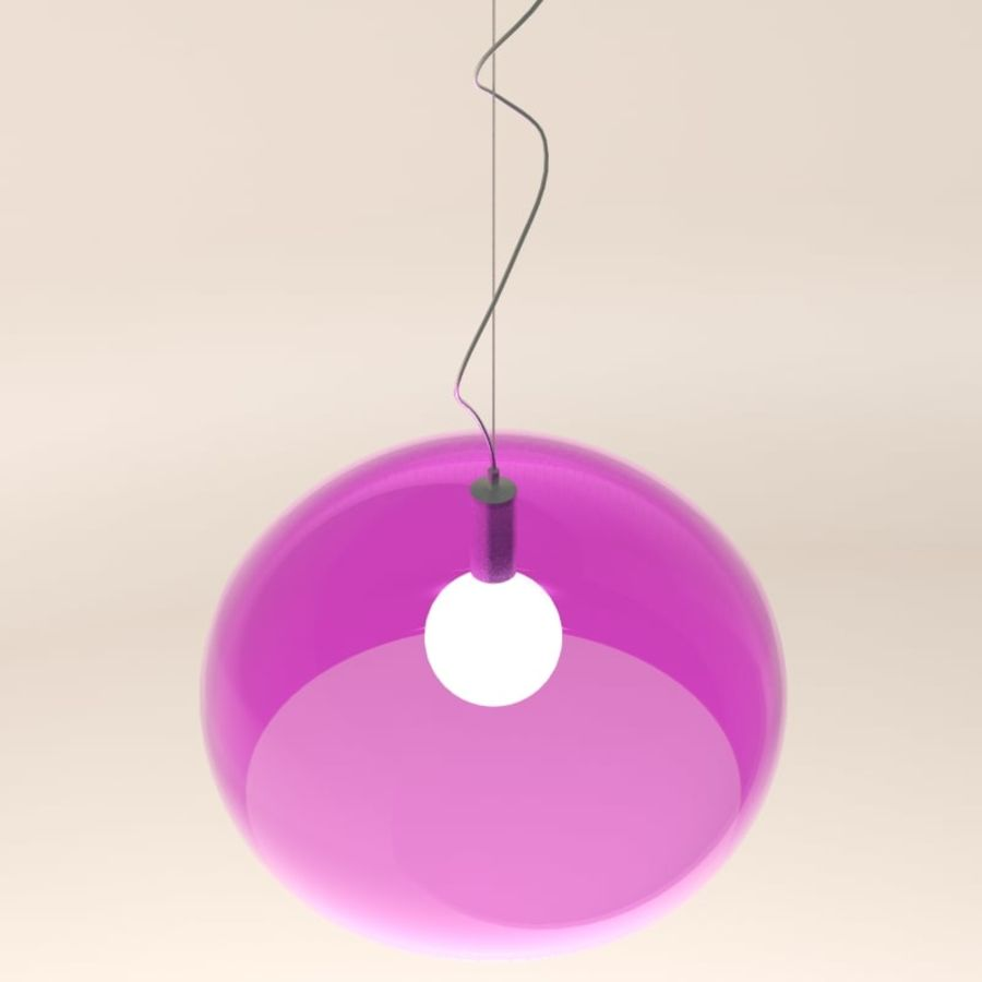 Lampa FLY royalty-free 3d model - Preview no. 3