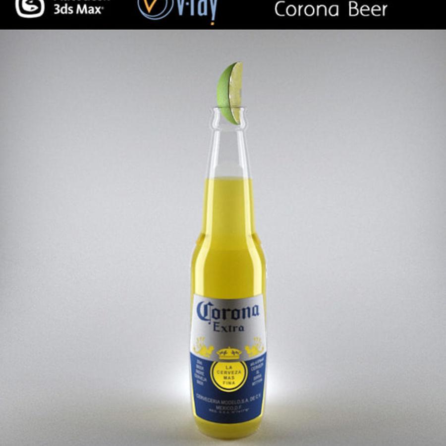 Cerveza corona royalty-free modelo 3d - Preview no. 1