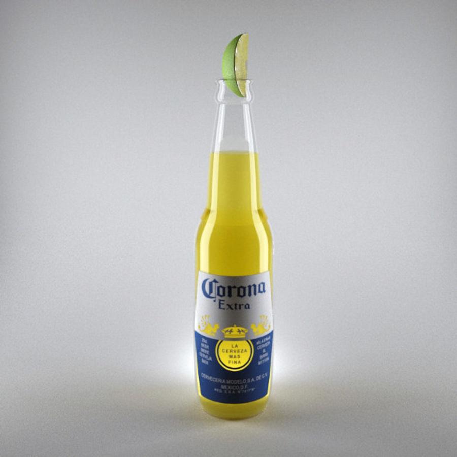 Cerveza corona royalty-free modelo 3d - Preview no. 2