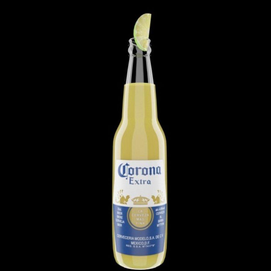 Cerveza corona royalty-free modelo 3d - Preview no. 5