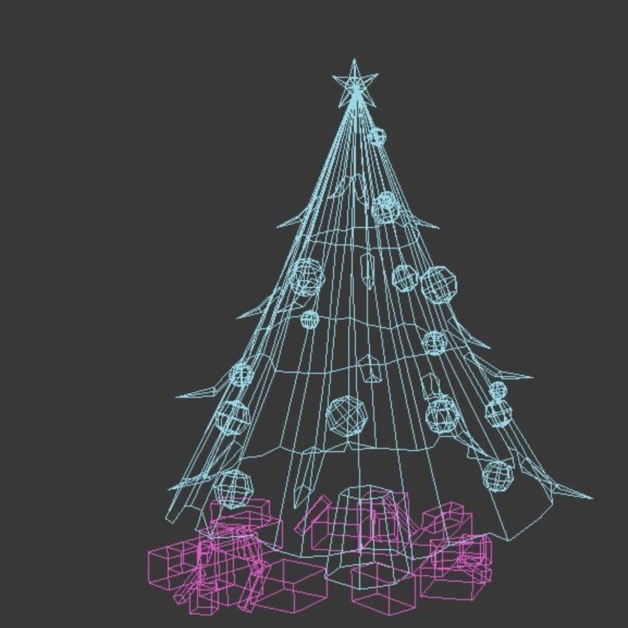 圣诞节树 royalty-free 3d model - Preview no. 3