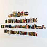 книги 3d model