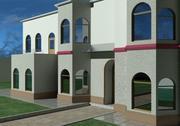 Dom zewnętrzny 3d model