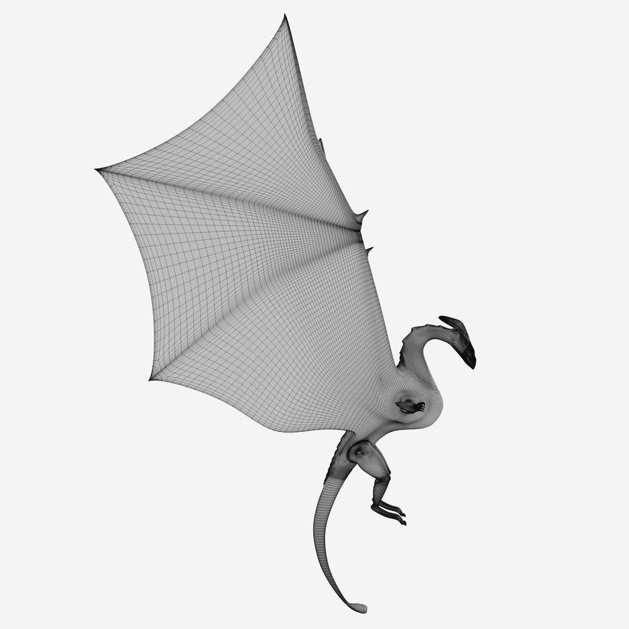 Dragon royalty-free 3d model - Preview no. 1