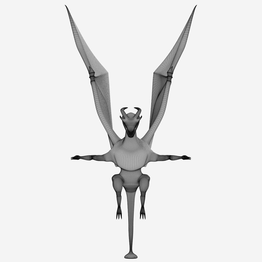 Dragon royalty-free 3d model - Preview no. 14