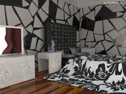 Dormitorio modelo 3d
