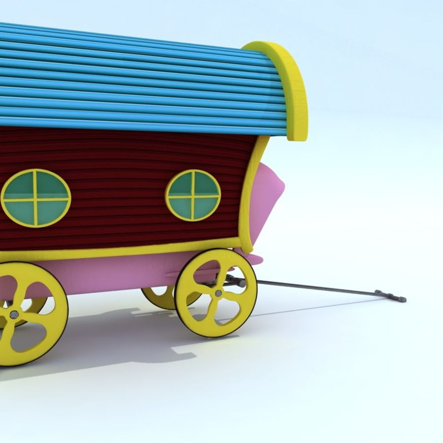 CarRiages royalty-free 3d model - Preview no. 2