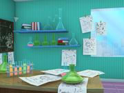 Laboratory 3d model