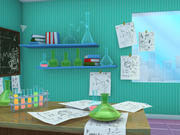 实验室 3d model