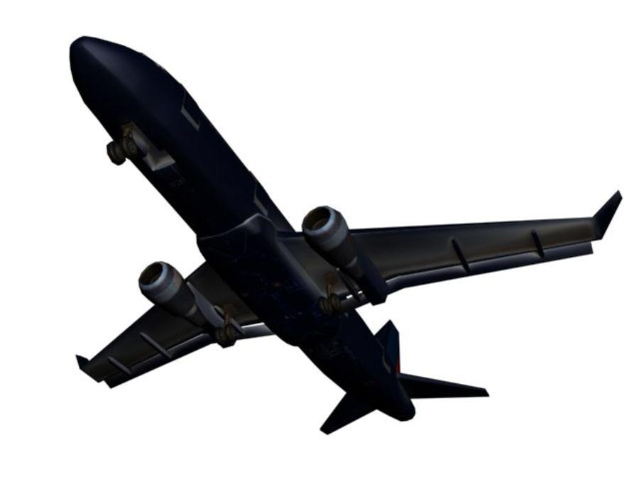 飞机和汽车 royalty-free 3d model - Preview no. 12