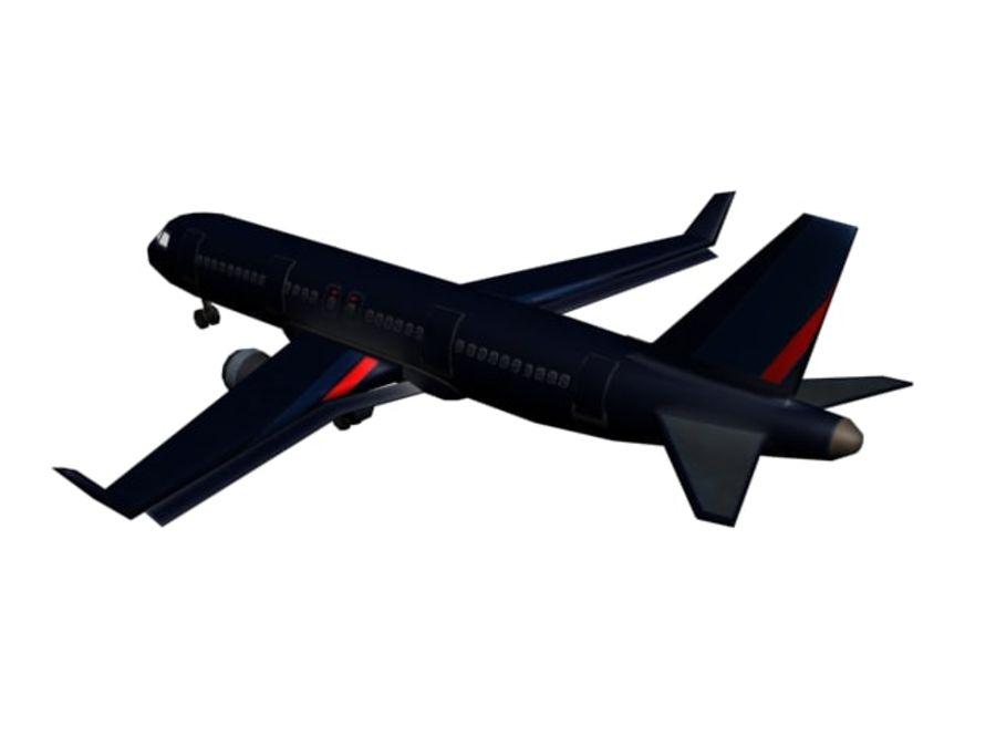飞机和汽车 royalty-free 3d model - Preview no. 7
