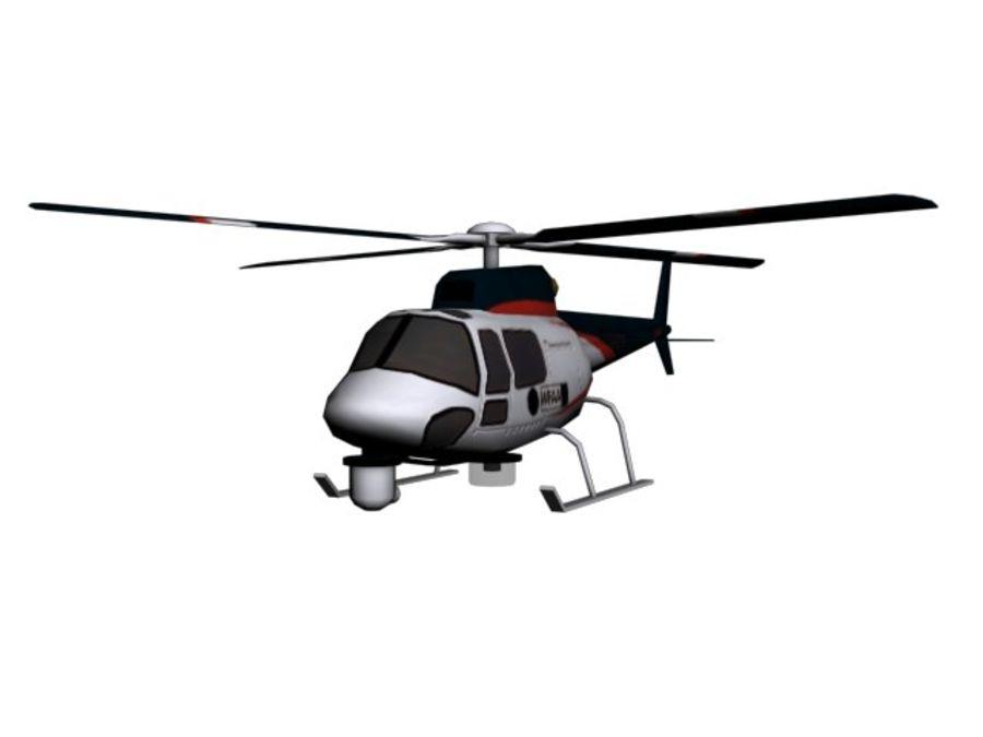 飞机和汽车 royalty-free 3d model - Preview no. 11