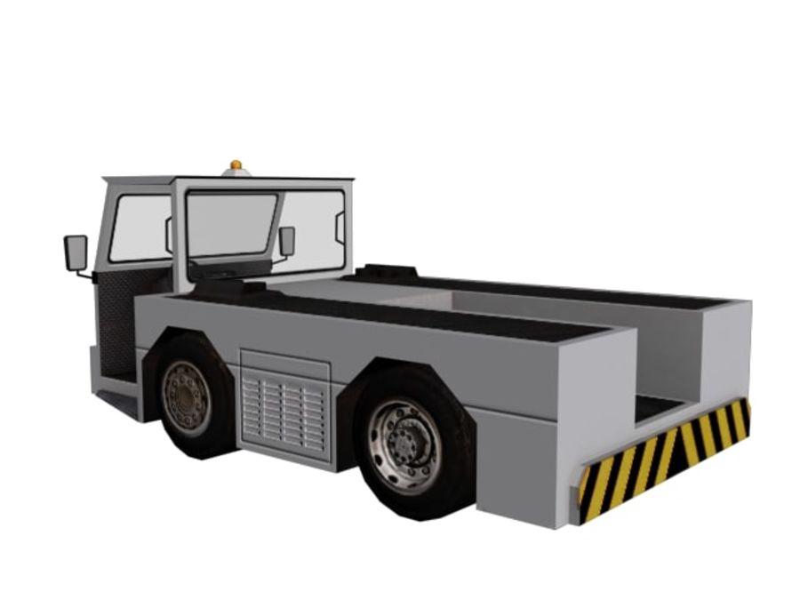 飞机和汽车 royalty-free 3d model - Preview no. 10