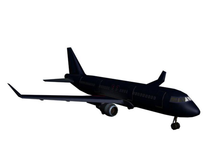 飞机和汽车 royalty-free 3d model - Preview no. 17