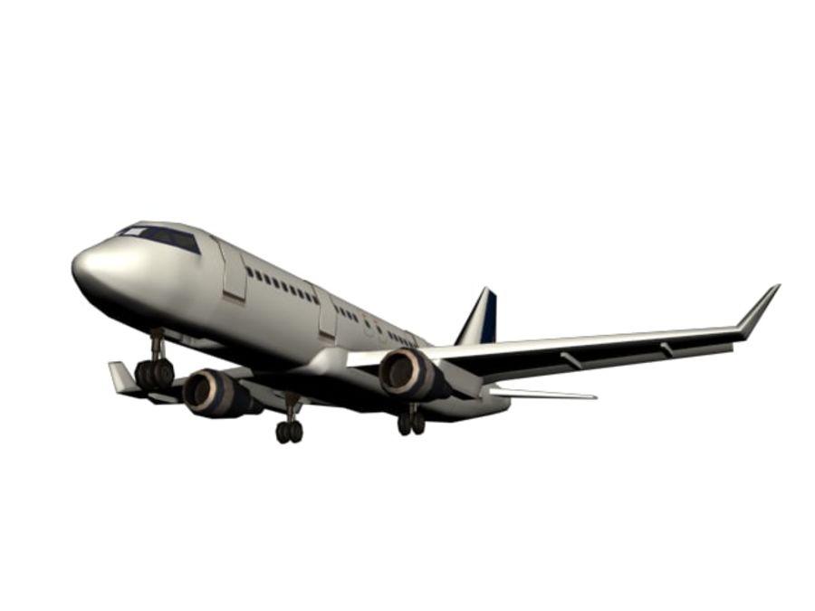 飞机和汽车 royalty-free 3d model - Preview no. 25