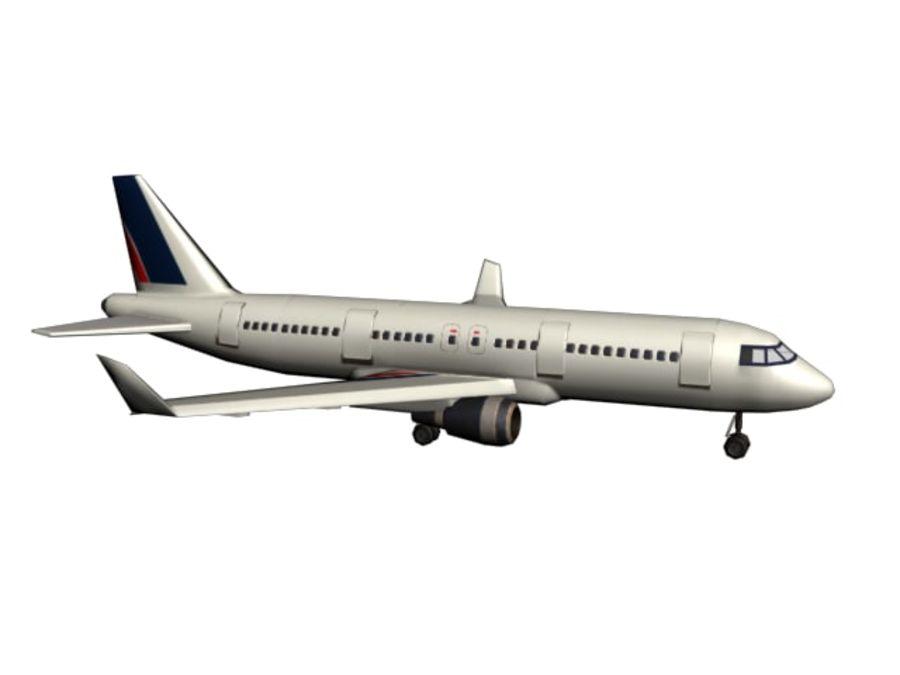 飞机和汽车 royalty-free 3d model - Preview no. 27