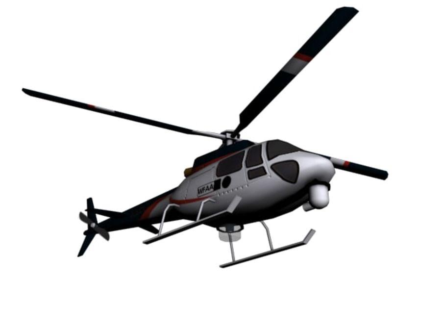 飞机和汽车 royalty-free 3d model - Preview no. 16