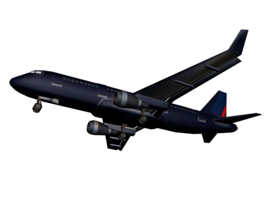 飞机和汽车 royalty-free 3d model - Preview no. 2