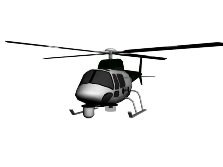 飞机和汽车 royalty-free 3d model - Preview no. 21