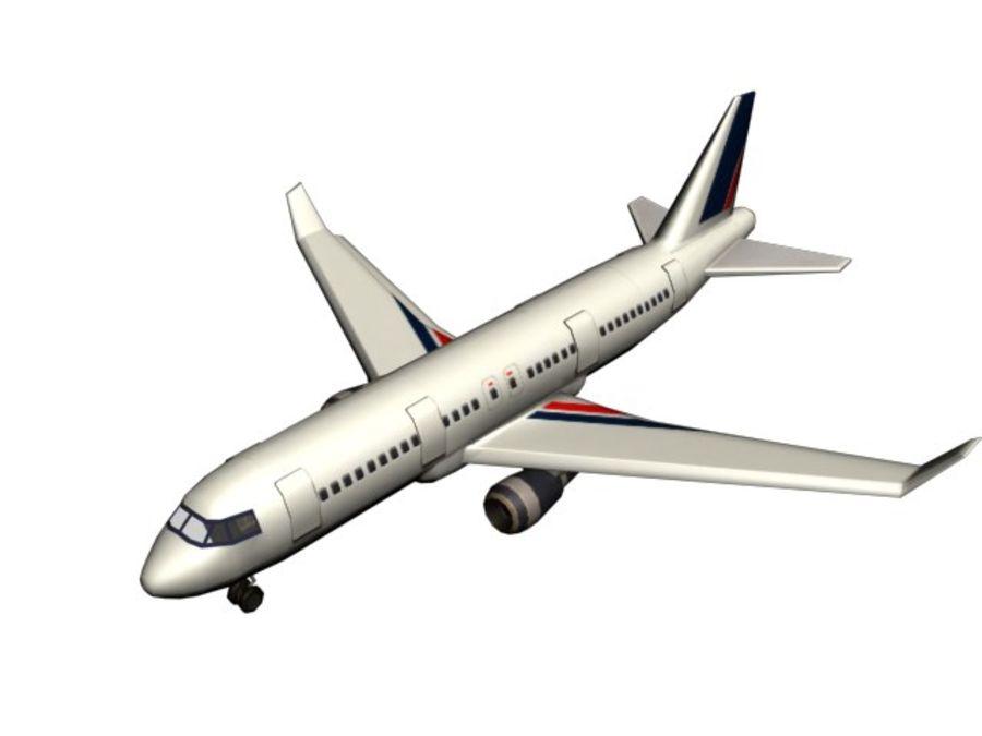 飞机和汽车 royalty-free 3d model - Preview no. 22