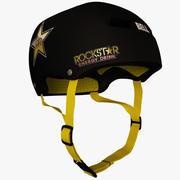 Bell Helmet Rockstar Sürümü 3d model