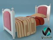 Детская кровать 1 детская кровать Амелия 3d model
