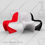 Populär stol för inredning 3d model