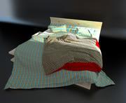 Photorealistic Bed-Verona 3d model