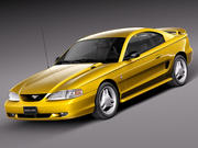 Ford Mustang GT 1994-1999 3d model