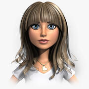 Angie - Sin aparejo modelo 3d