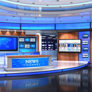 VR Studio News American3 3d model