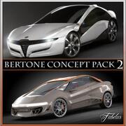 Bertone concepts 2 3d model