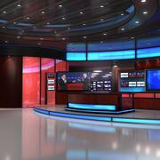 VR Studio - Notizie-Elezioni 3d model