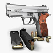 Sig Sauer P229エリートステンレス9mm 3d model