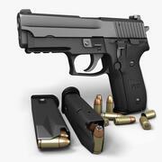 Sig Sauer P229クラシック9mm 3d model